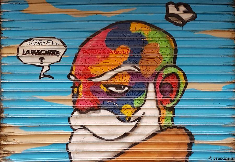 Street Art Paris La Fine Equipe Vive La Peinture Jack Le Black Raphael Federici Paris Autrement